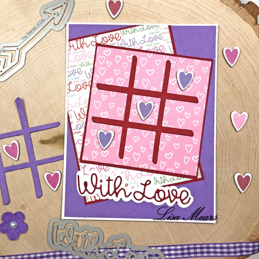 The Stamps of Life December 2020 Card Kit - Love Bugs - 15 Cards 1 Kit - Card 2