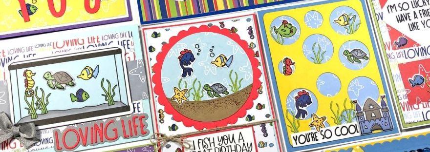The Stamps of Life January 2021 Card Kit - Loving Life - FishTank2Stamp