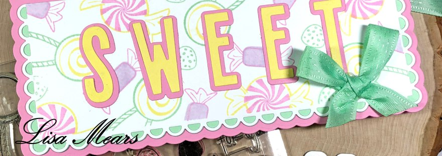 Sweet Slimline Card