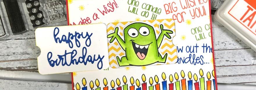 Peekaboo Birthday Card