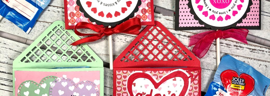Valentine's Day Lollipop Holder