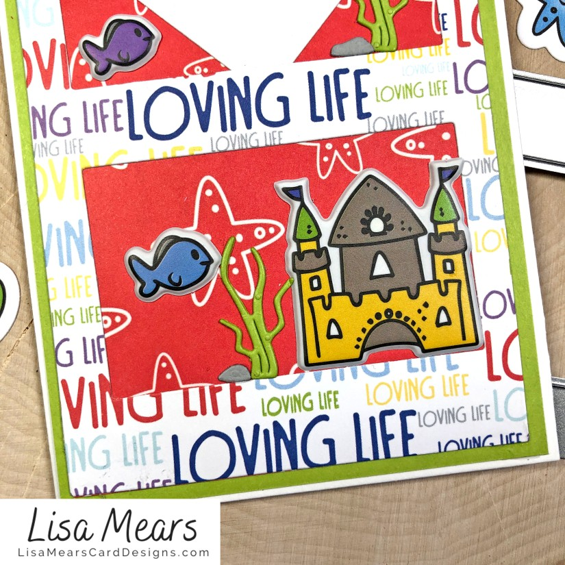 The Stamps of Life January 2021 Card Kit - Love Life - FishTank2Stamp _Card 10_bL