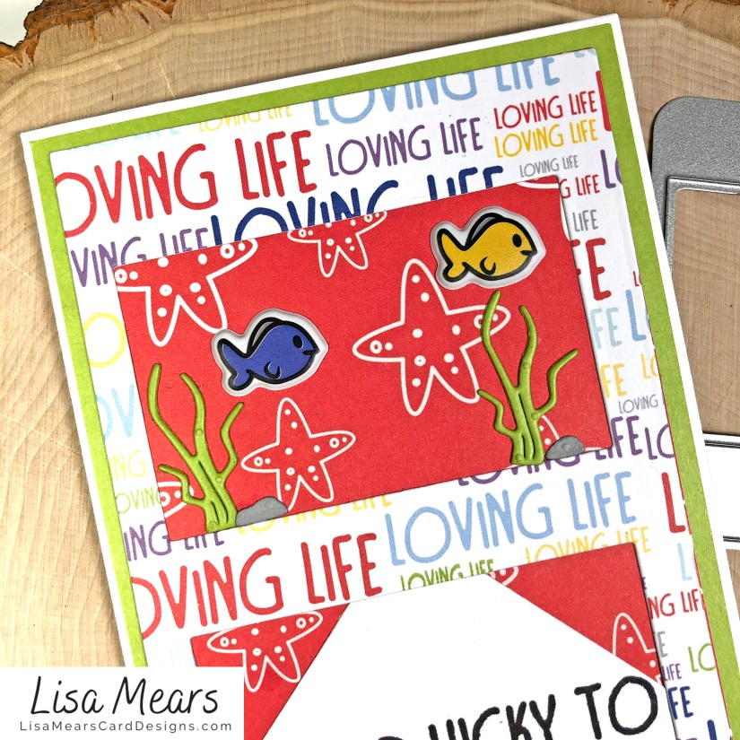 The Stamps of Life January 2021 Card Kit - Love Life - FishTank2Stamp _Card 10_dL