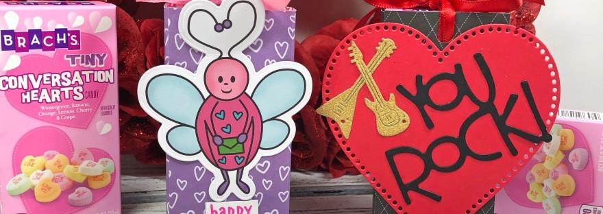 Valentine's Day Conversation Heart Slider Box