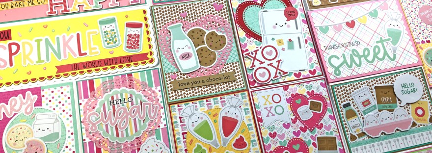 Doodlebug - Made with Love - 25 Cards 1 Collection