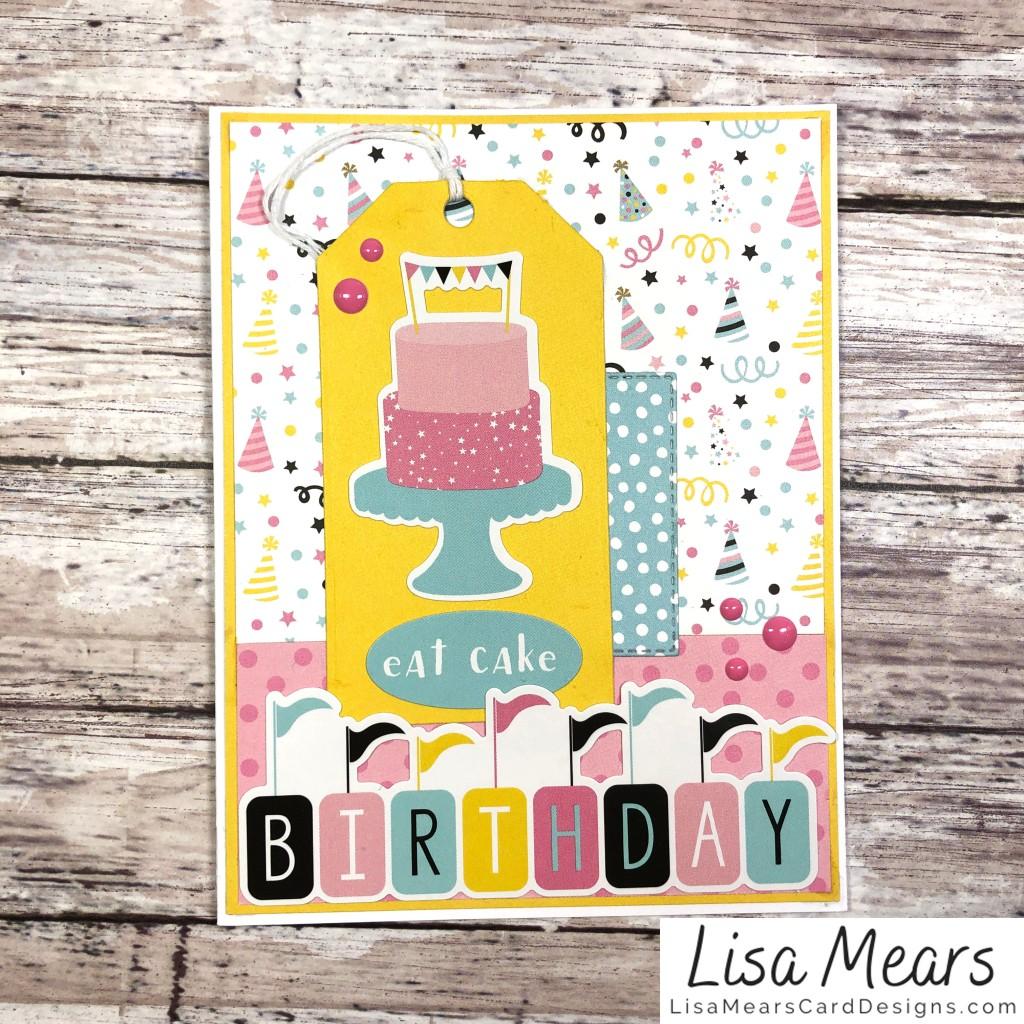 Echo Park Magical Birthday Girl - 12 Cards