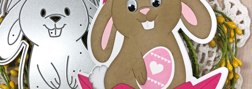 Bunny Egg Fold-it Card