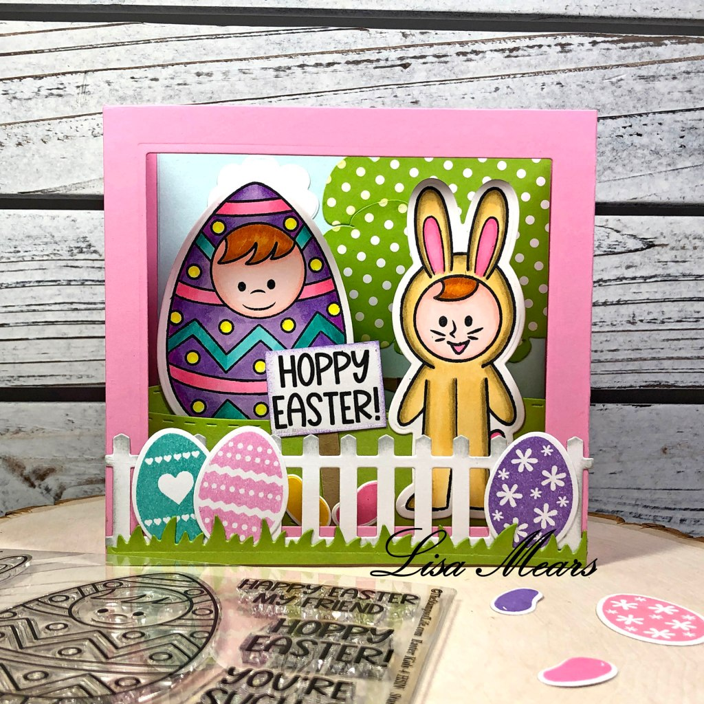 Easter Shadow Box Card