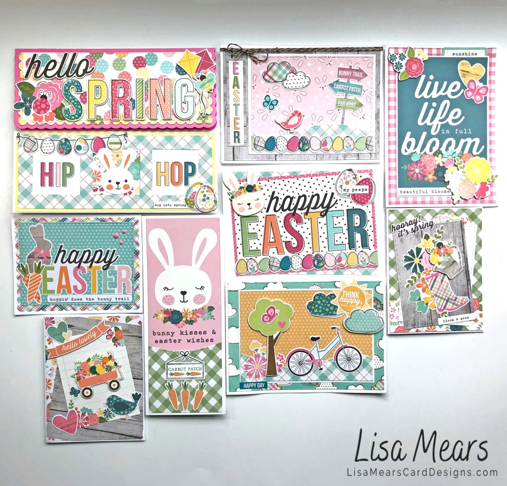 Simple Stories Hip Hop Hooray 10 Cards