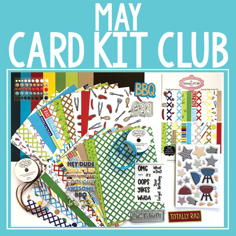 The Stamps of Life May 2021 Card Kit