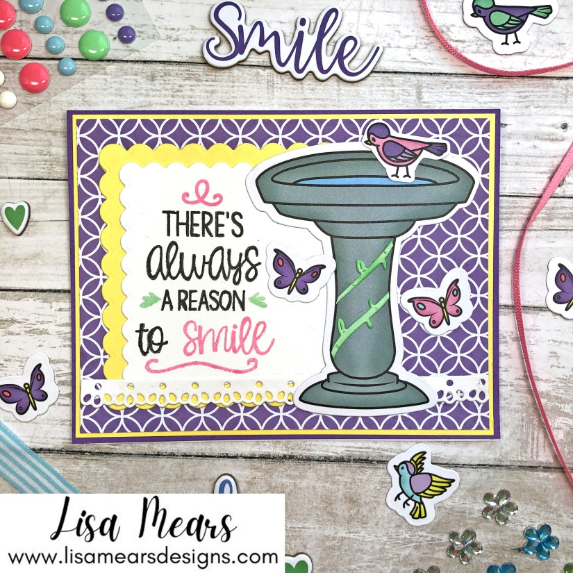 The Stamps of Life April 2021 Card Kit - Remember This - Birdbath2Stamp - 10 Cards 1 Kit