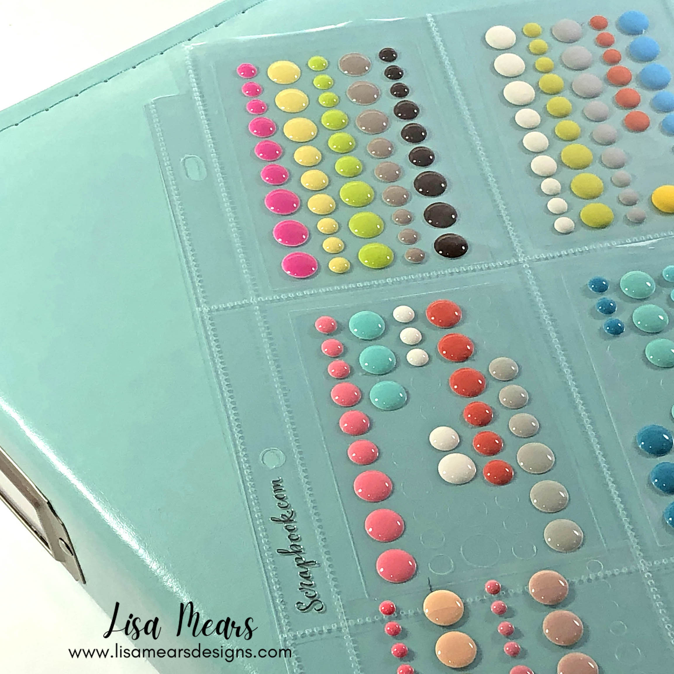 Album Storage for Stamps and Embellishments
