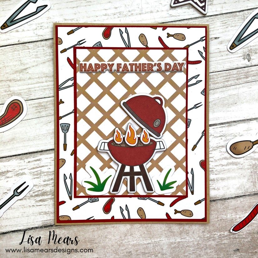 The Stamps of Life May 2021 Card Kit - 10 Cards 1 Kit - Masculine Card