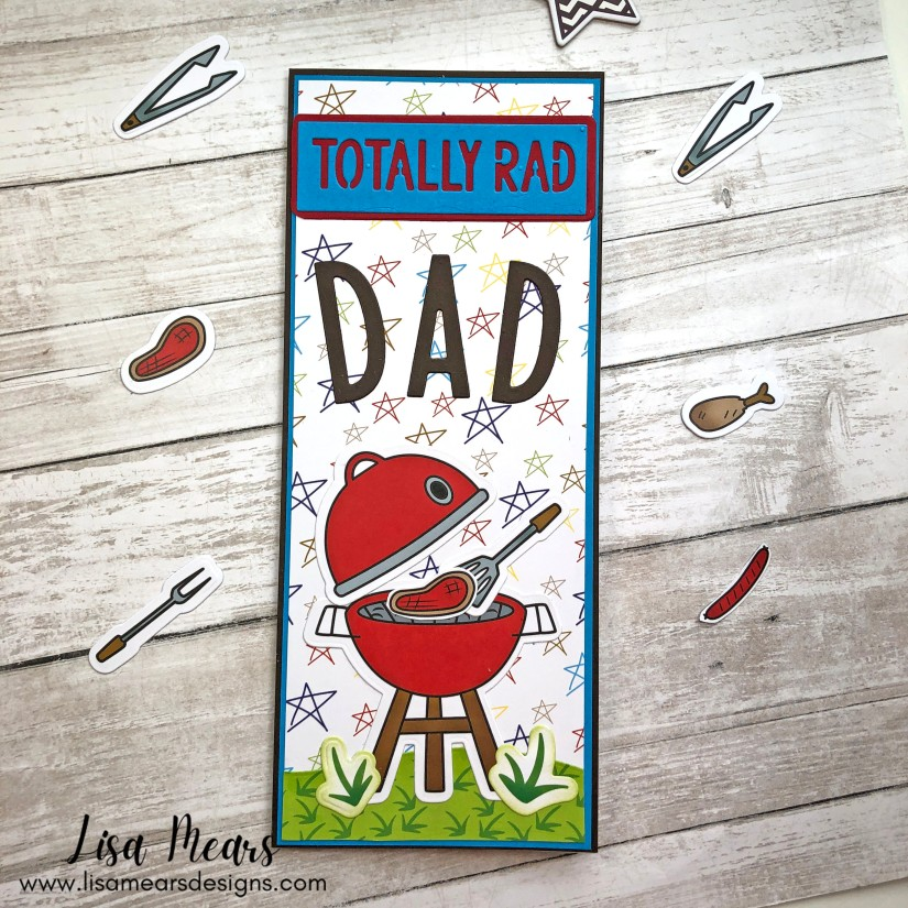 The Stamps of Life May 2021 Card Kit - 10 Cards 1 Kit - Dad Card