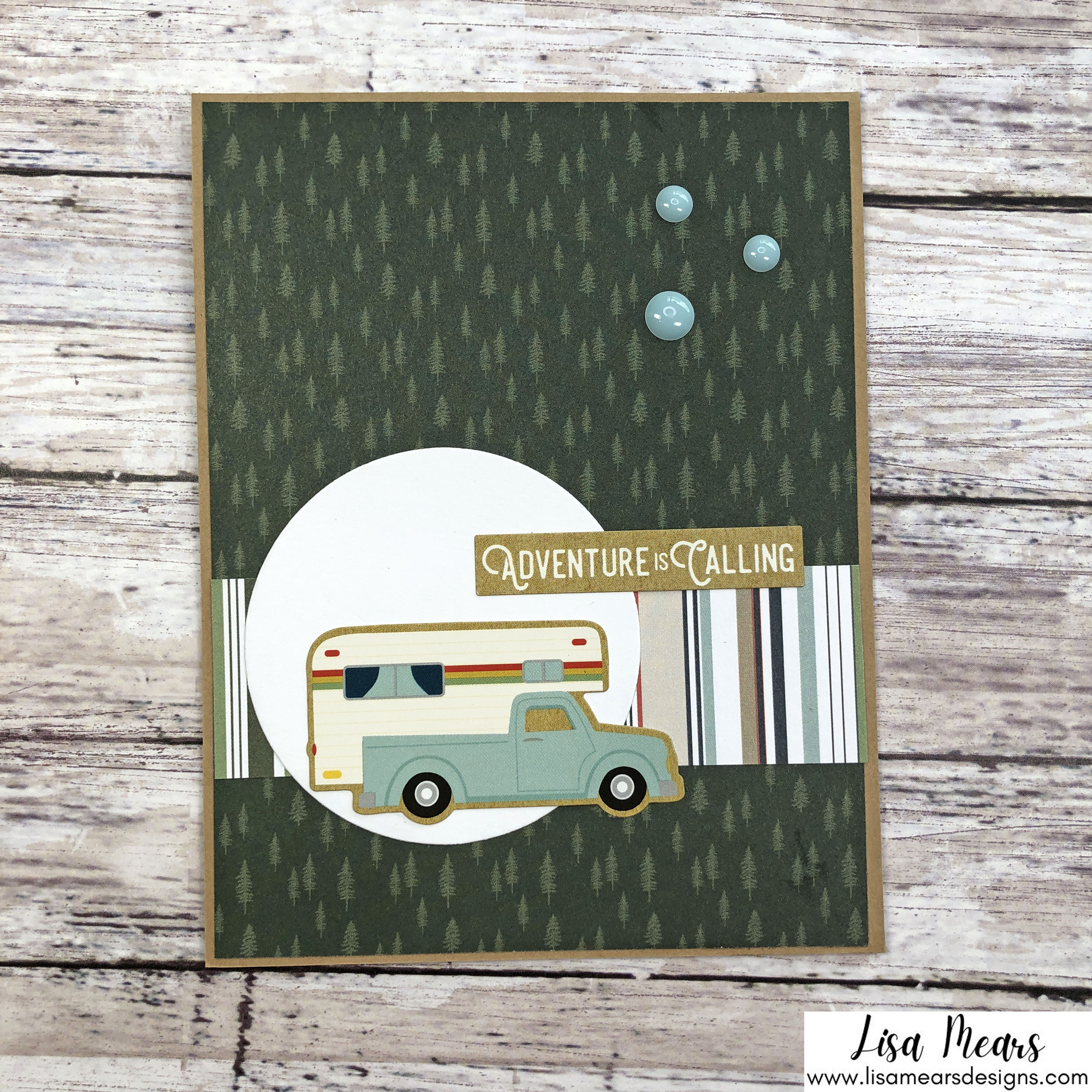 18 Cards - Echo Park - Let's Go Camping