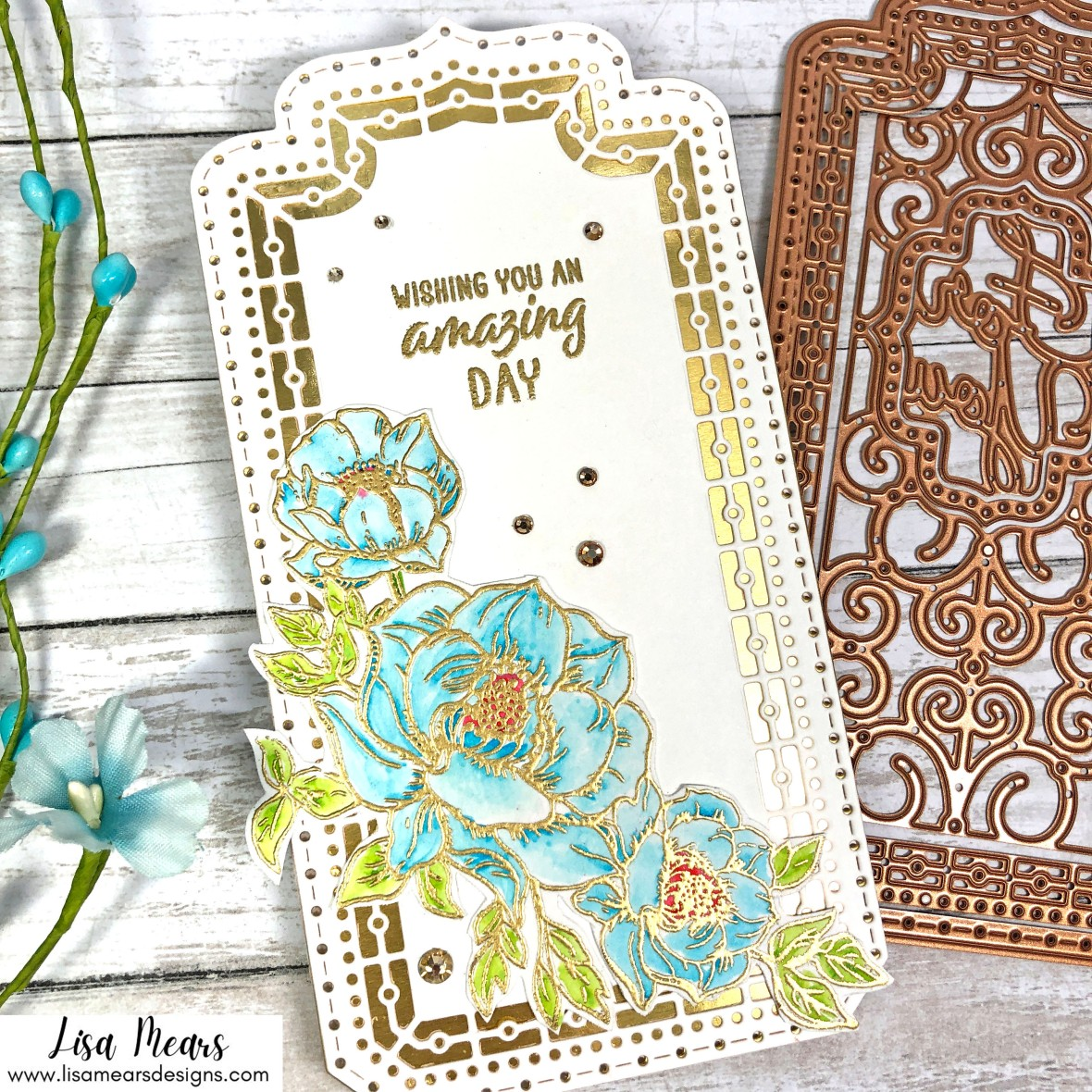 Spellbinders Small Die of the Month and Clear Stamp of the Month July 2021