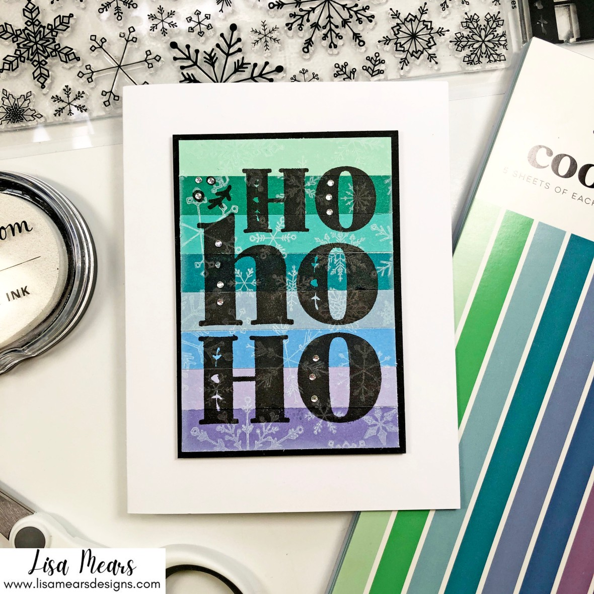 Christmas in July - Snowflake Cards - Scrapbook.com