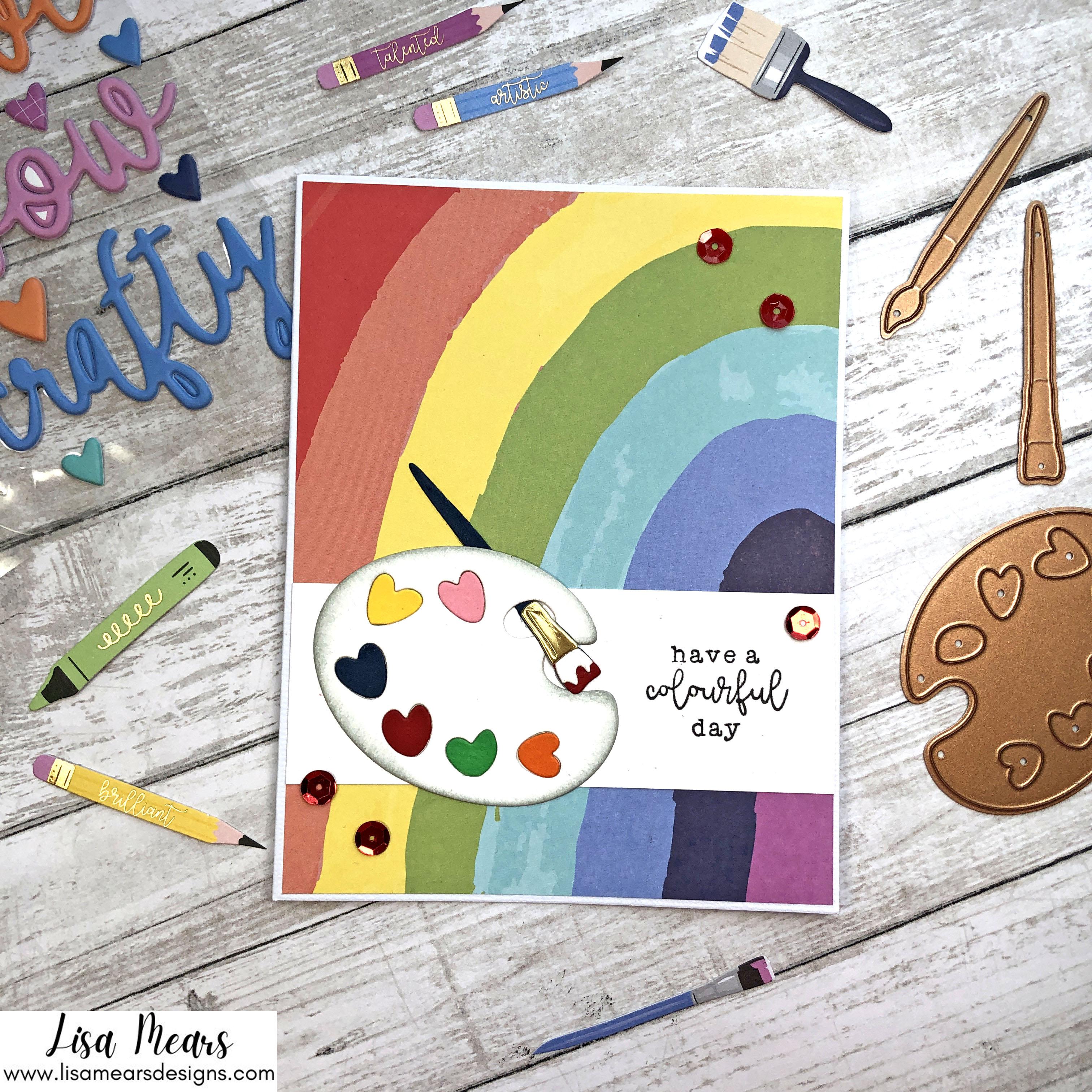 Spellbinders August 2021 Card Kit - 10 Cards 1 Kit