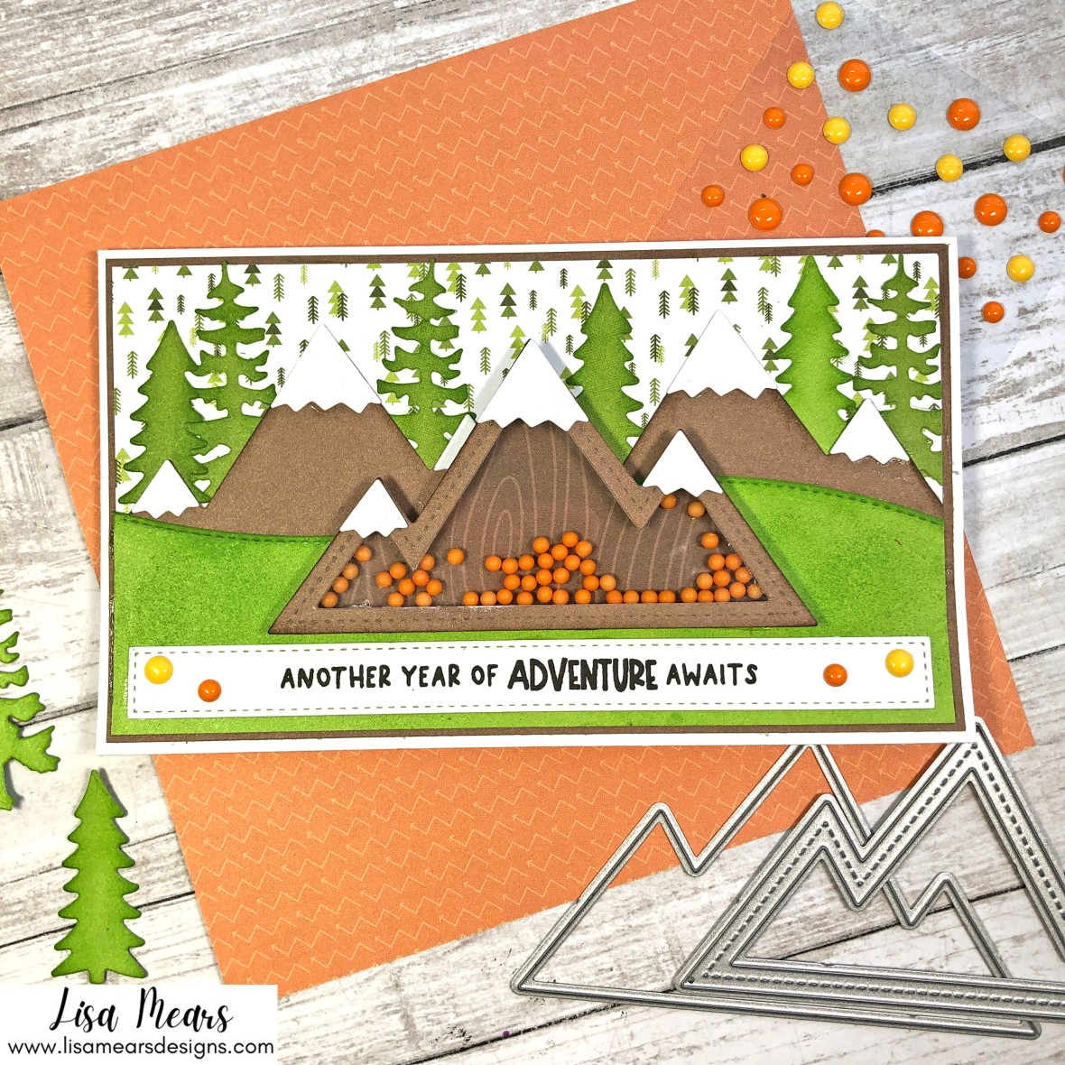 Queen & Co | Great Outdoors Shaker Kit | 10 Cards 1 Kit