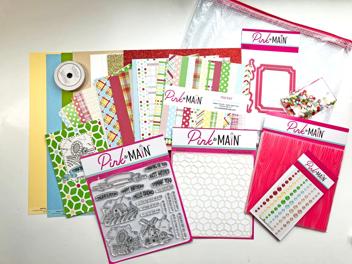 Pink and Main Crafty Courtyard Kit - July 2021