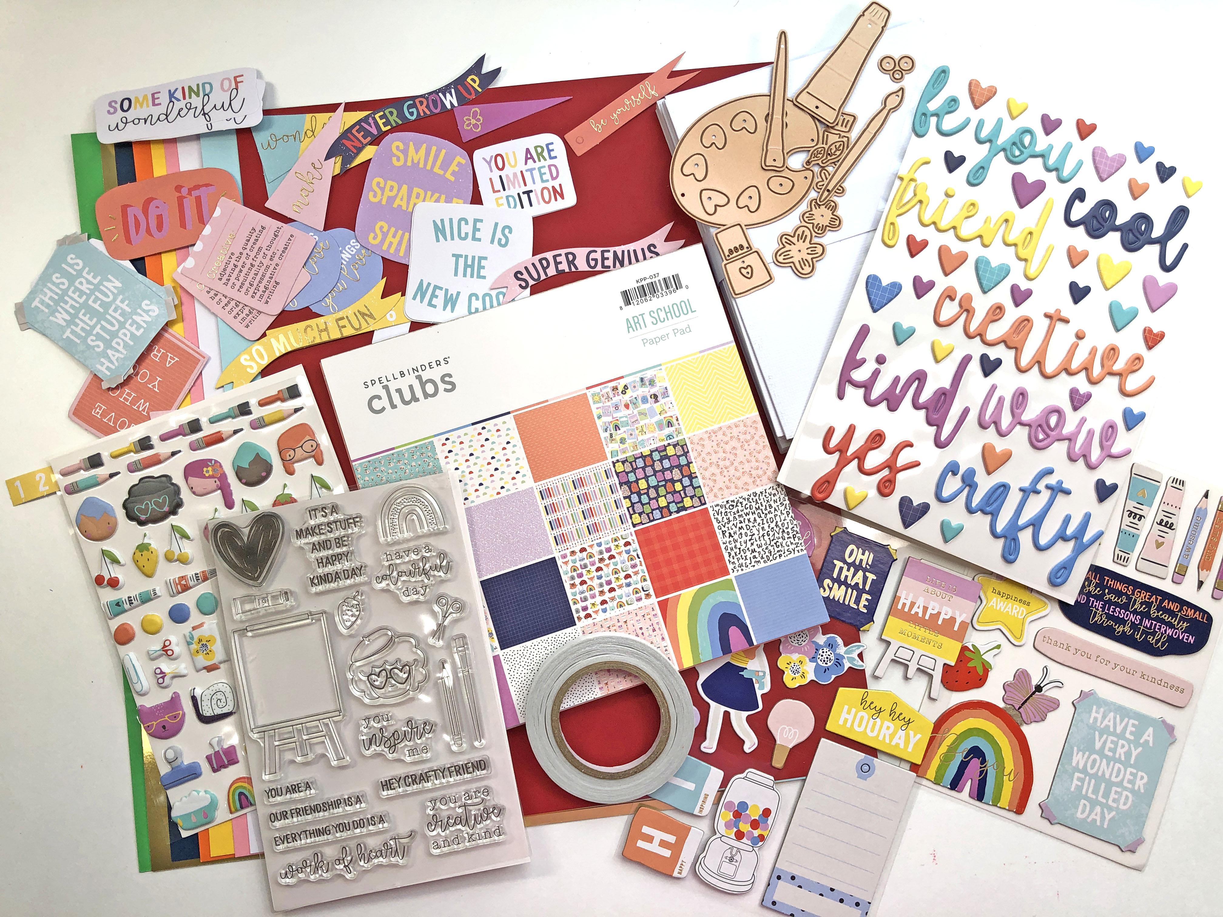 Spellbinders August 2021 Card Kit