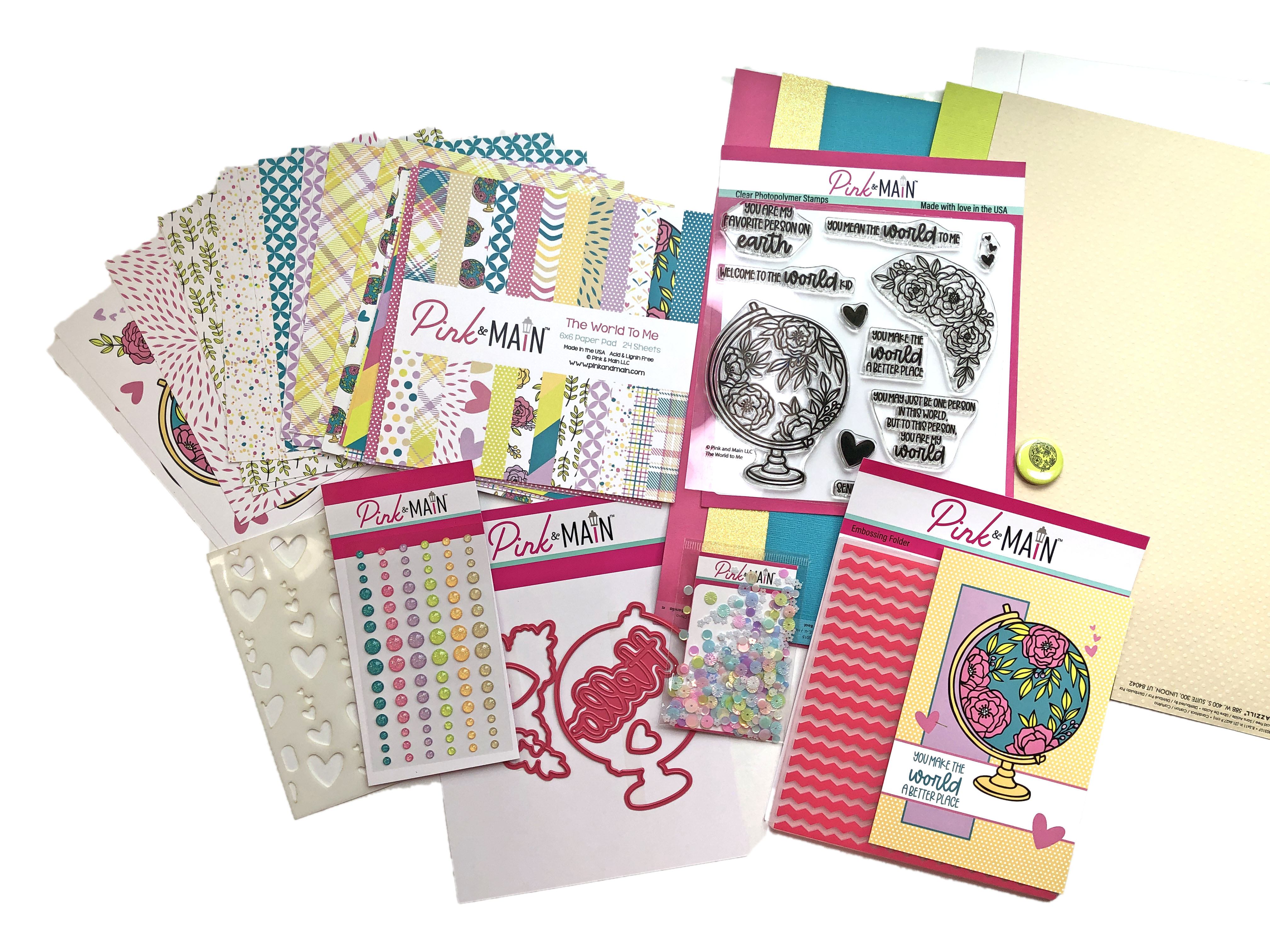Pink and Main August 2021 Crafty Courtyard Kit