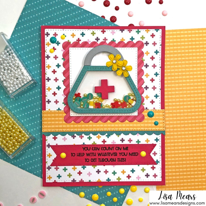Queen & Company Get Well Soon Shaker Kit - 10 Cards 1 Kit