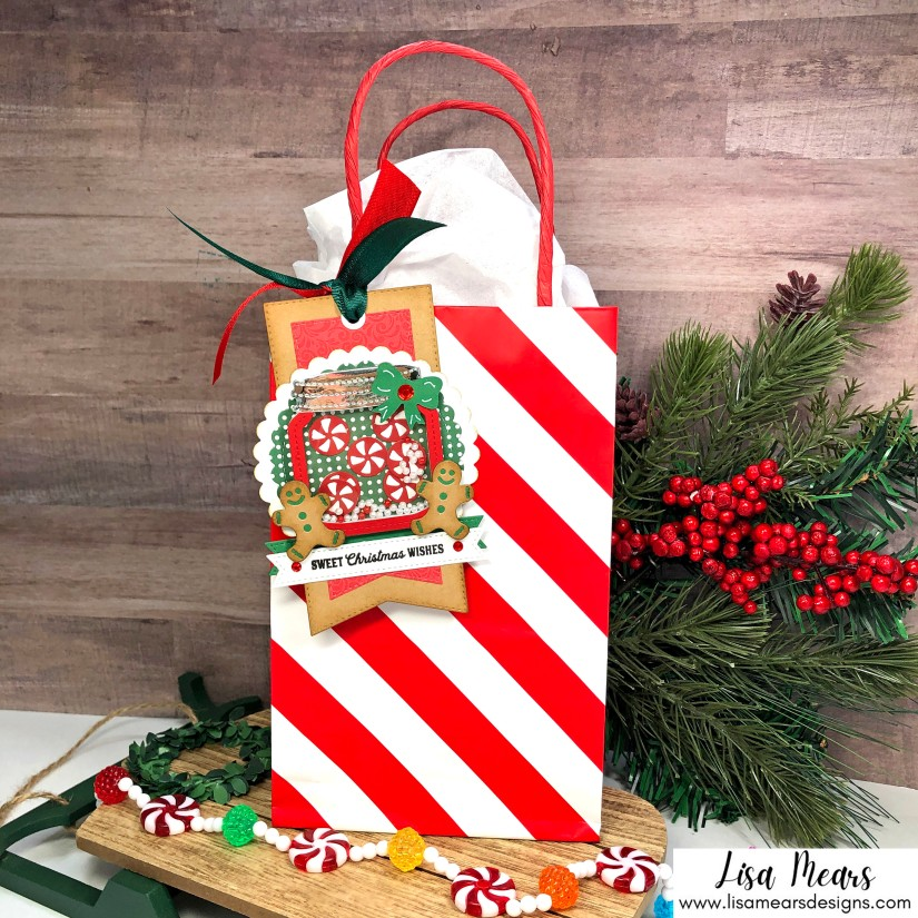Queen & Co Holiday Jar Shaker Kit - 10 Cards 1 Kit - Christmas Cards