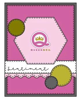 QUEEN & CO FOUNDATION DIES 3, 4, 5 sketch