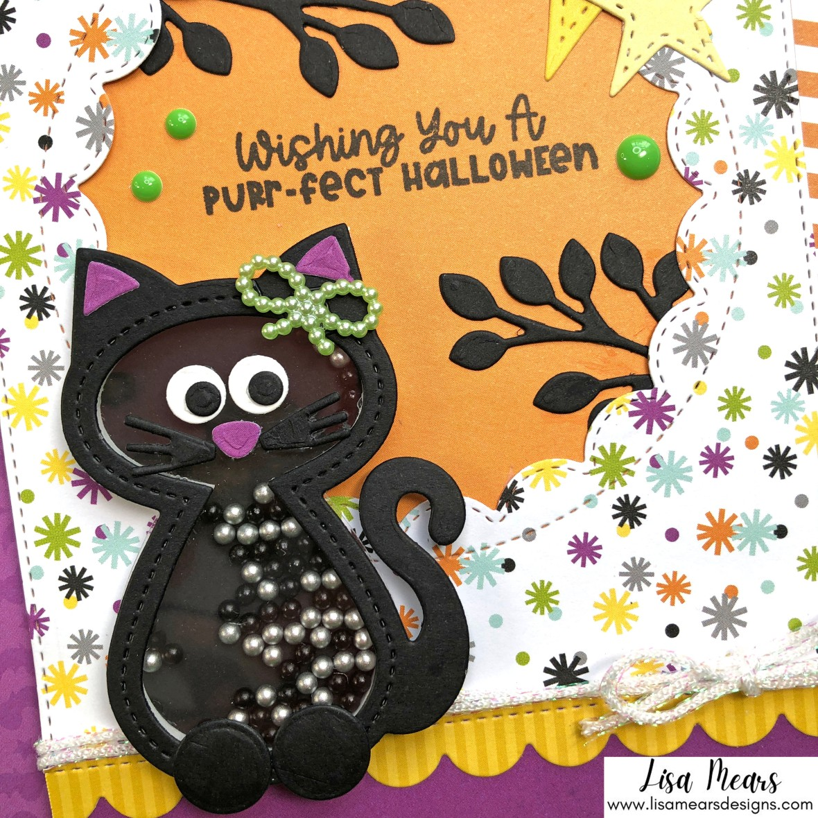Lisa Mears - Happy Haunting - Card 1b L