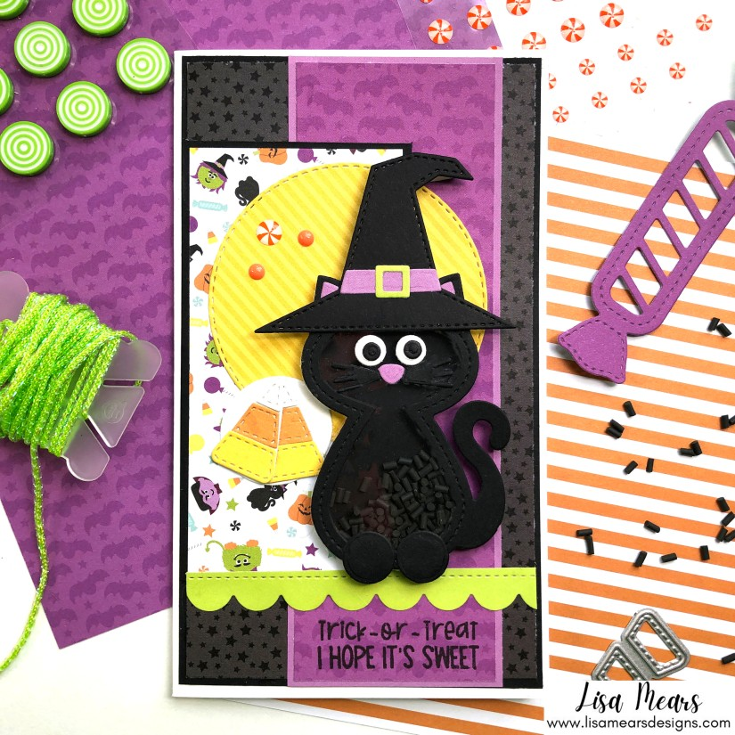 Queen & Company Happy Haunting - 10 Cards 1 Kit - Halloween Shaker Cards