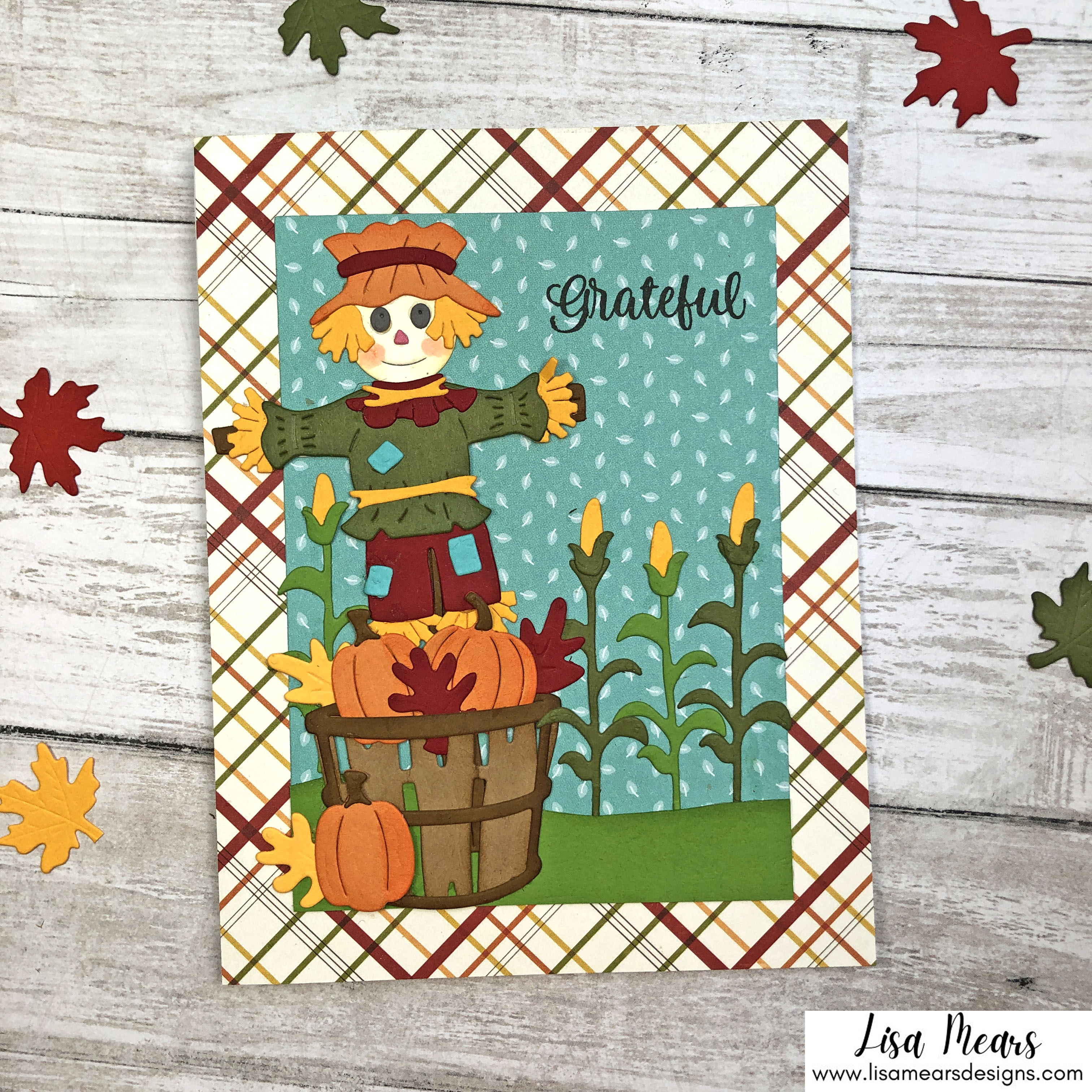 Spellbinders Happy Harvest Collection by Nichol Spohr - 2 cards
