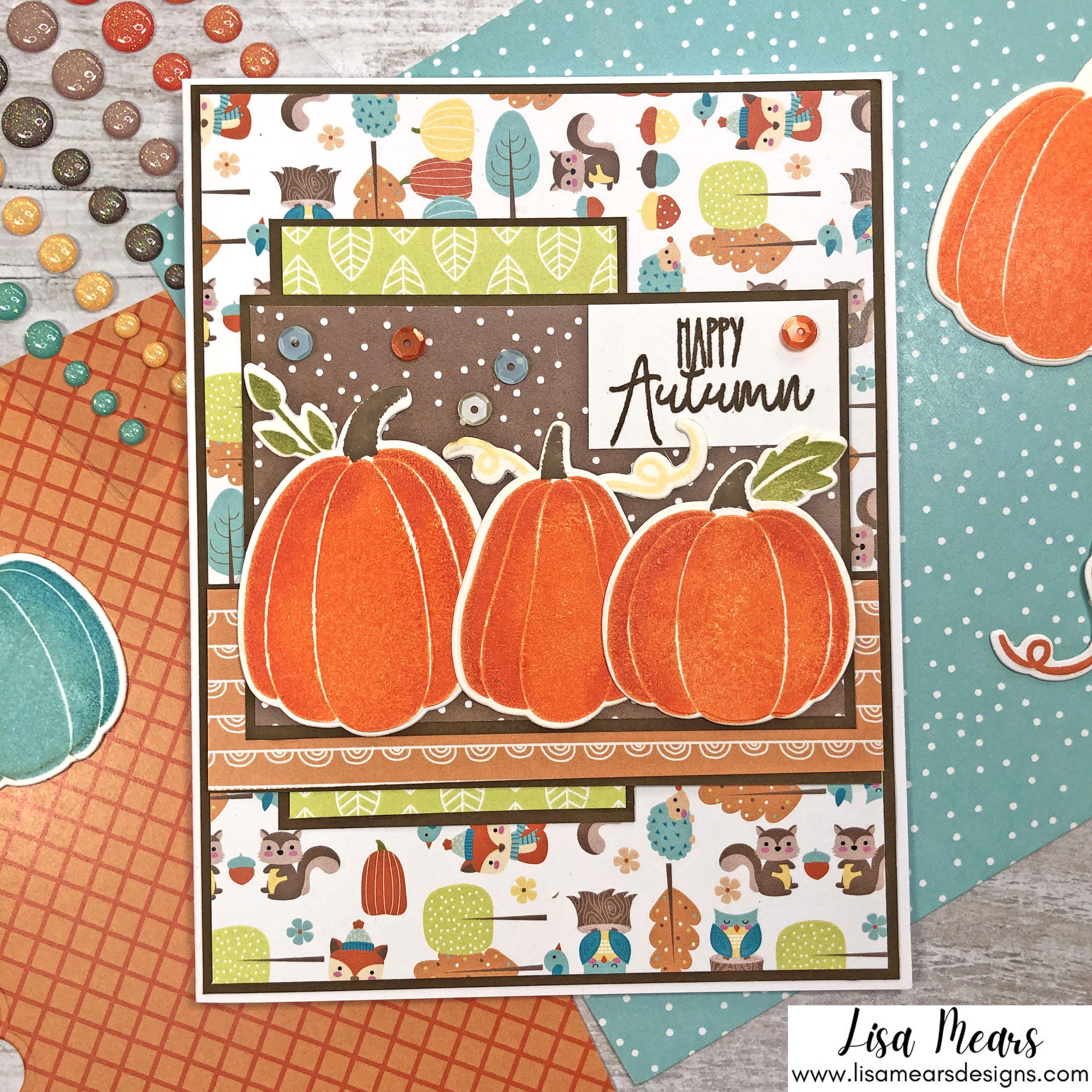 Pink and Main Crafty Courtyard Kit - September 2021 - Pumpkin Season