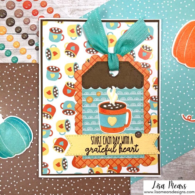 Pink and Main Crafty Courtyard Kit - September 2021 - Pumpkin Season - Card 2