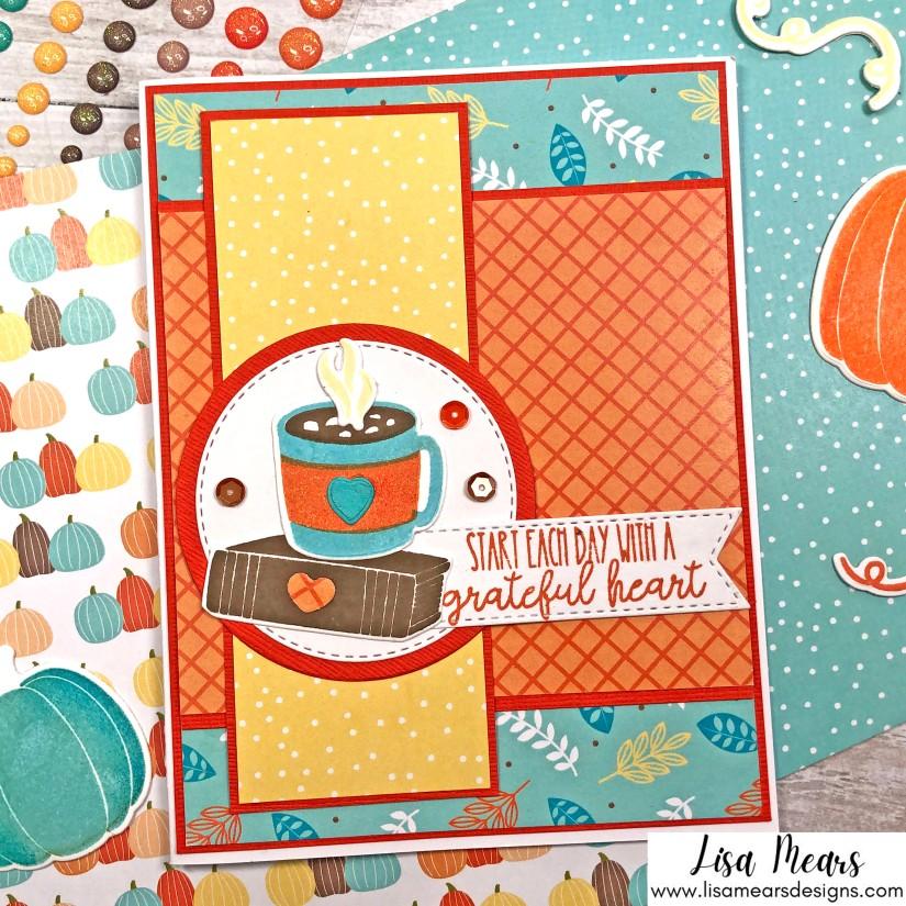 Pink and Main Crafty Courtyard Kit - September 2021 - Pumpkin Season Card 3