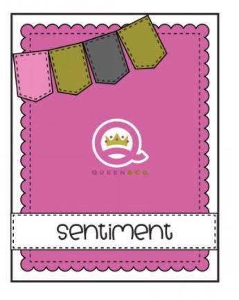 Queen & Co Card Sketch