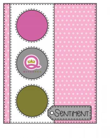 Queen & Co Card sketch 30