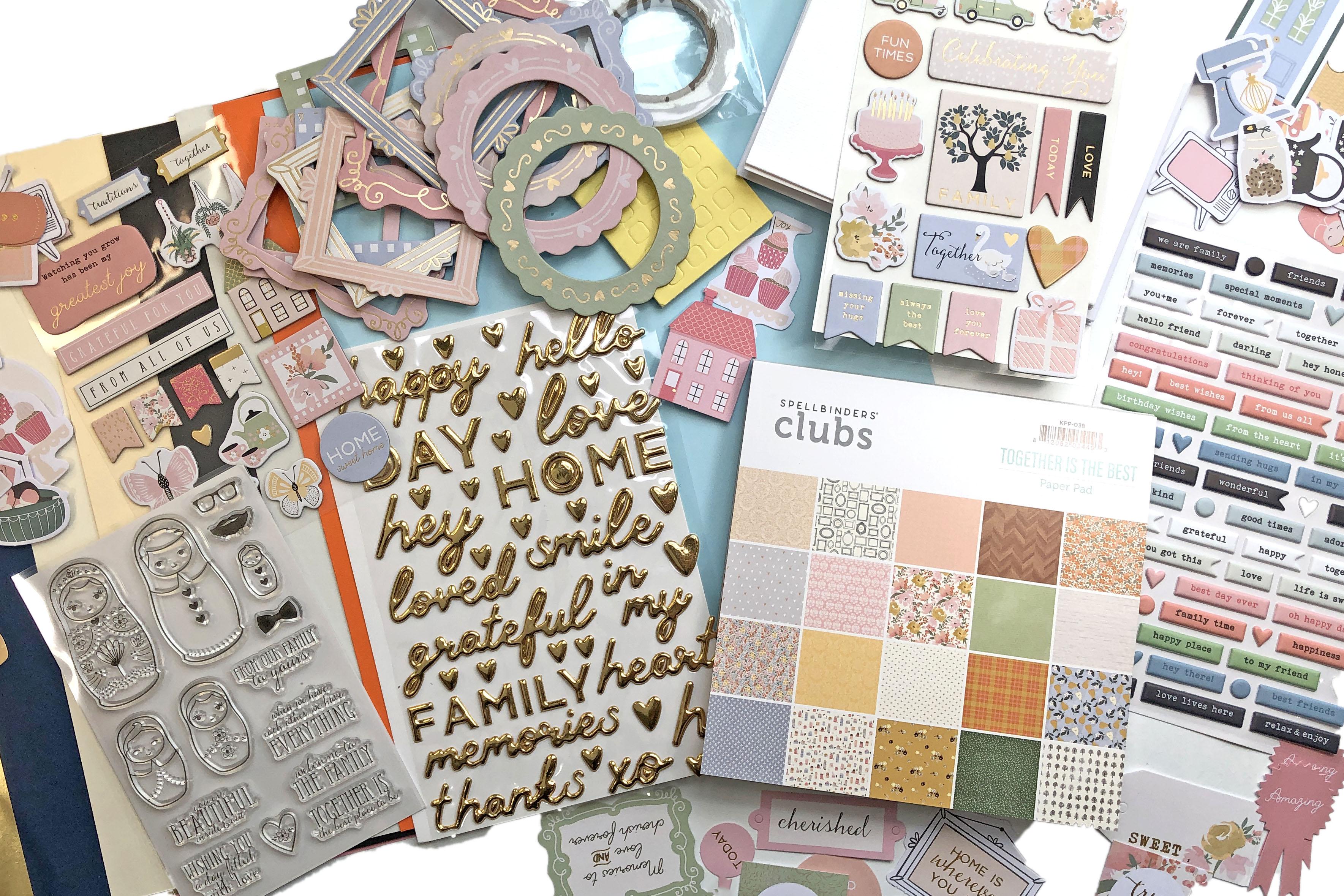 Spellbinders September 2021 Card Kit - 15 Cards 1 Kit