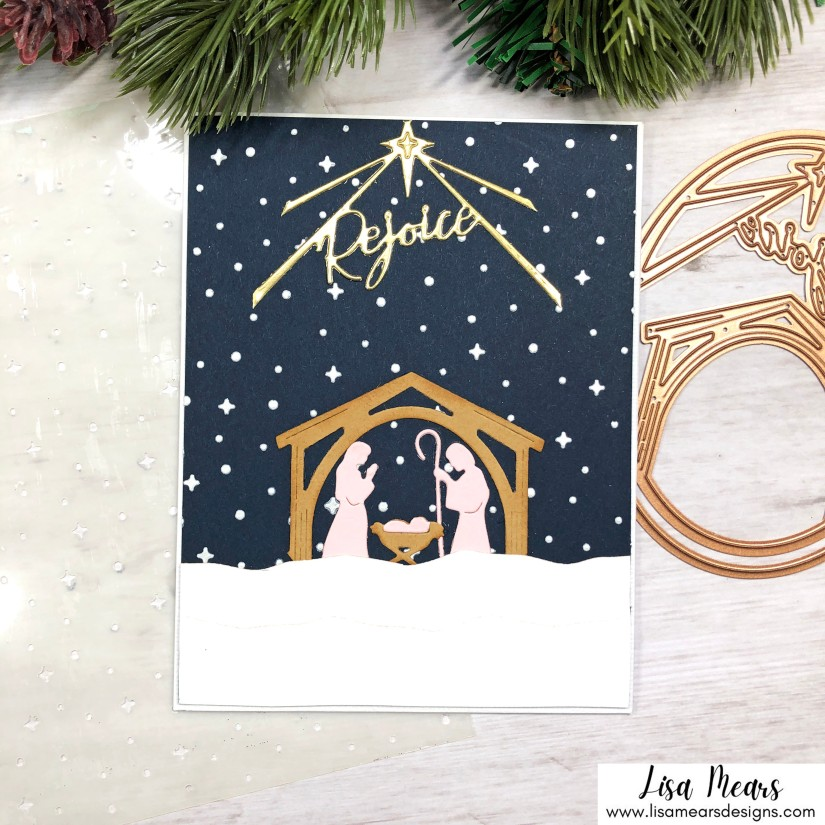 Spellbinders Christmas Traditions Collection - Rejoice Nativity