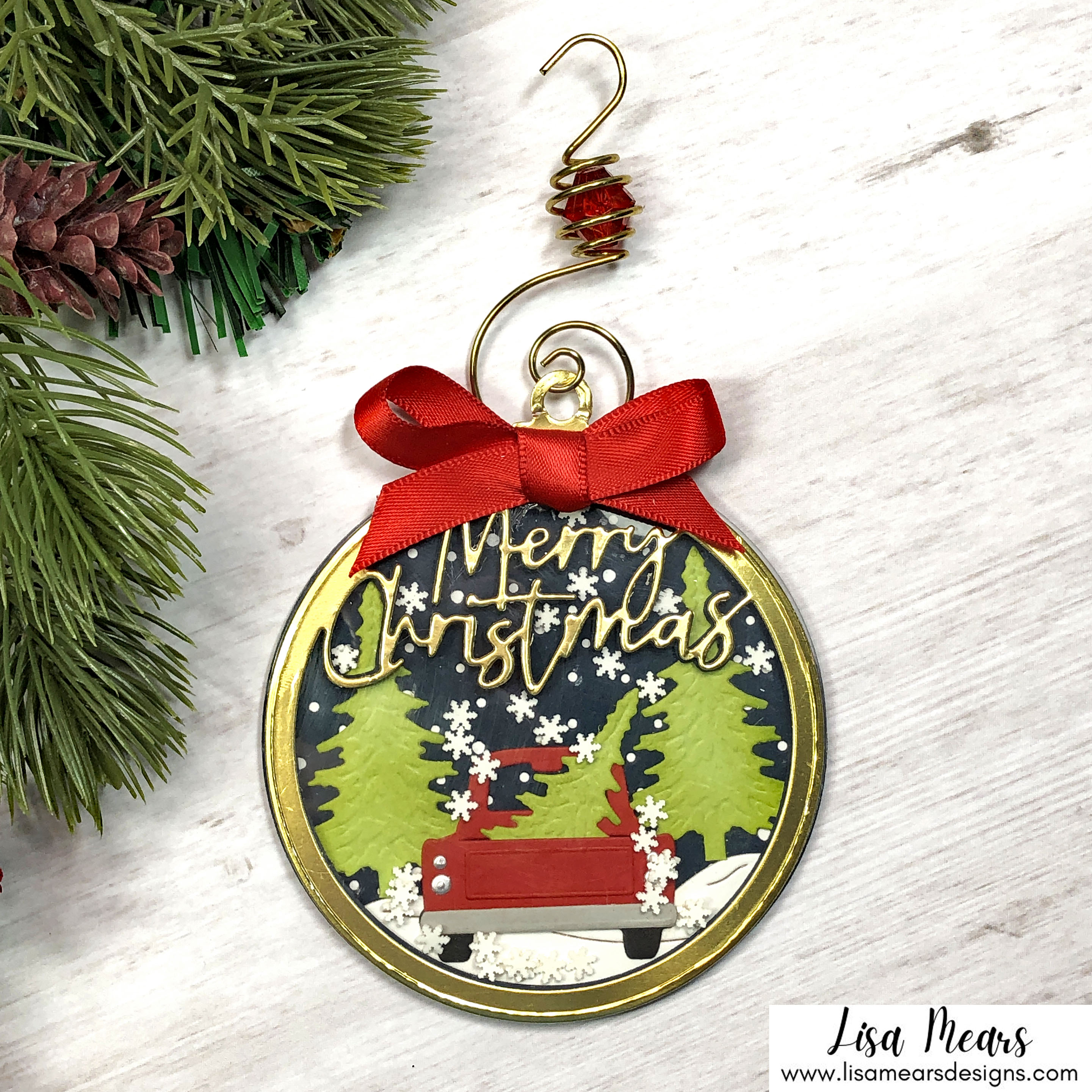 Spellbinders Christmas Traditions Collection - Through the Woods