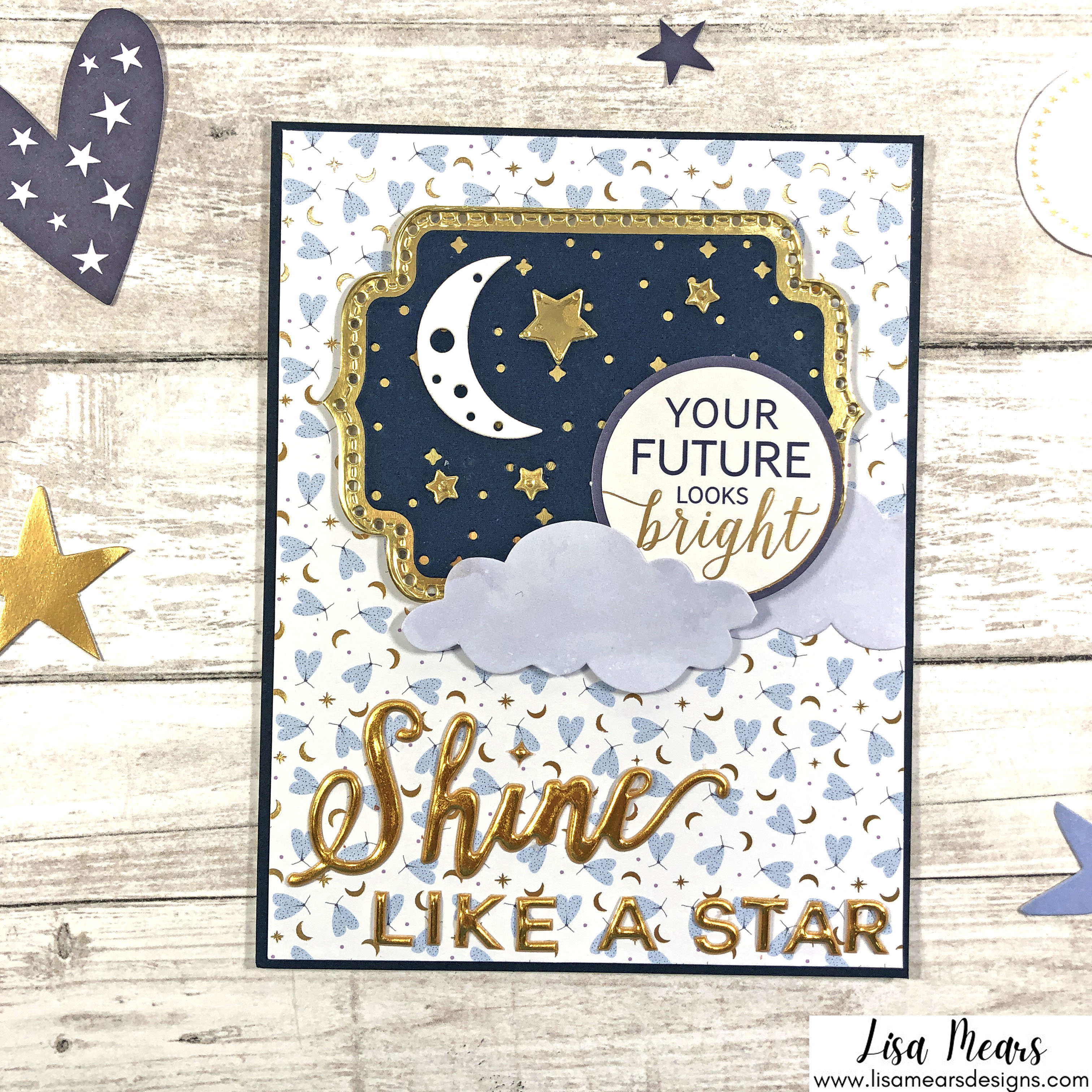 Spellbinders October 2021 Card Kit - You are Stellar! You're future looks bright